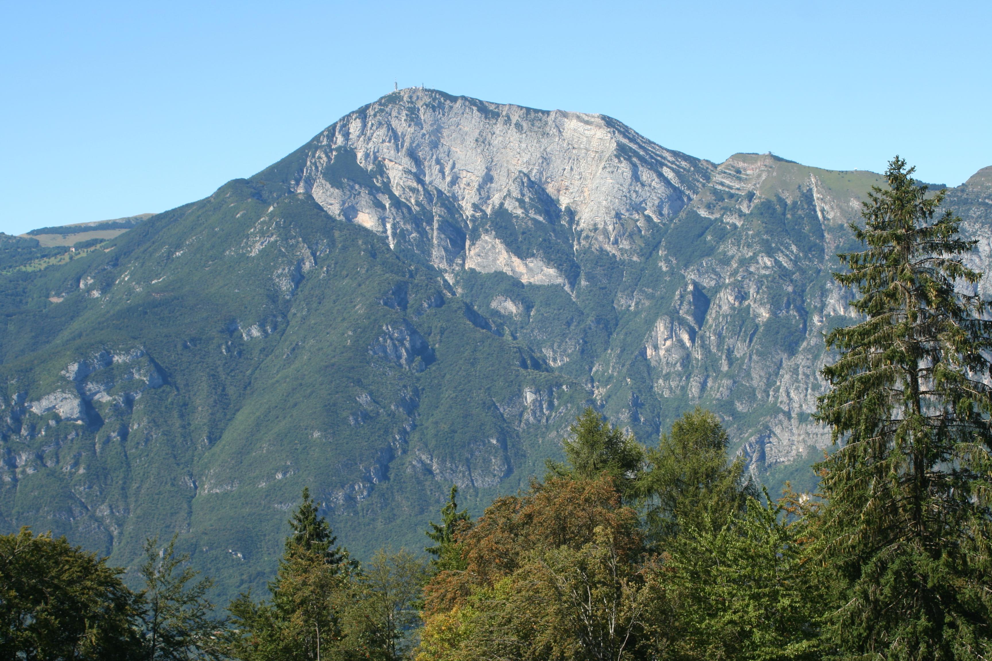 Monte bondone le montagne del trentino for Monti del trentino